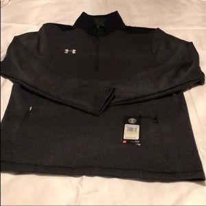 Men's Medium Under Armour 1/4 zip fleece